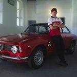 Åk med Kimi Räikkönen när han testar nya Alfa Romeo Giulia GTA