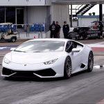 0-300 km/h på dryga 7 sekunder med en 2000 hästars Lamborghini Huracan