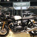 Triumph visar upp sina coola nyheter på MC-Mässan