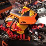 KTM visar upp sin snygga MotoGP hoj på MC-mässan