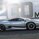 320km/h i en 30 år gammal Jaguar XJ220