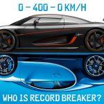 6 snabbaste bilarna i världen