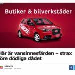 Skall bilföretag annonsera i skvallerpressen?