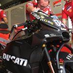 Andrea Dovizioso har fått nya vingar på hans Ducati MotoGP-hoj