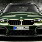 Vassare BMW M5 CS på väg
