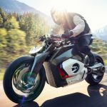 BMW visar sin framtidsvision för elektriska motorcyklar