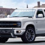 Ford Bronco gör comeback 2020