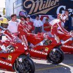 Cool 500cc tvåtaktare till salu i USA – Cagiva V593 som vann på Laguna Seca