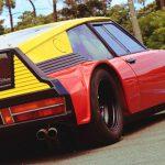 Citroen SM testbil för Michelin