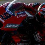 Ducati med Danilo Petrucci steker alla sista dagen i Sepang