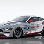 Elektrisk Mustang för dragracing