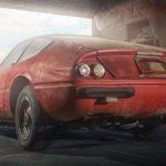 Den enda tillverkade Ferrari 365 Daytona Berlinetta i Aluminium hittad i Japan
