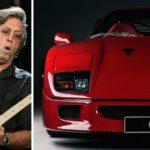 Sugen på en Ferrari F40 med Eric Clapton som tidigare ägare?