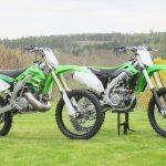 Fet Kawasaki 500 tvåtaktare