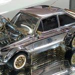 Ford Escort i guld  säljs på auktion