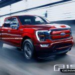 Ford F-150 mest sålda bilen i USA kommer som elhybrid 2021