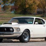 Ford Mustang Boss 429 med bara 1300 mil på mätaren till salu