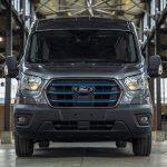 Ford presenterar en ny helelektrisk Transit
