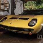 Garagefynd 1969 Lamborghini Miura P400S