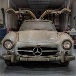 Garagefynd: Mercedes 300 SL