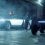 Hip-Hopare visar upp nya Cybertruck