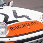 Holländsk Porsche 911 1989 Carrera 3.2 Targa Polisbil såld för 1 miljon kronor
