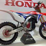 Honda satsar på eldriven motocross