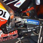 Honda testar kolfibersving i MotoGP