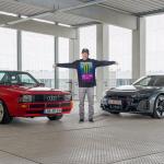 Ken Block kör elektrisk Gymkhana tillsammans med Audi