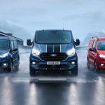 Kraftfullare Ford Transit Sport på väg