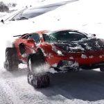 Lamborghini Aventador timbersled