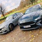TEST: BMW M3CS med 460 hk möter Mustang Bullitt med 460 hästar
