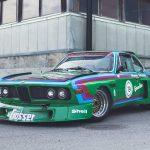 BMW CSL som rattats av legendariska F1 föraren Ronnie Peterson