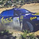 """Nu kan du köpa en legendarisk Subaru """"555"""" som rattades av Ari Vatanen"""