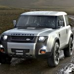 Ny Land Rover Defender på väg