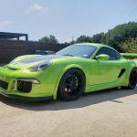 Porsche Cayman V8 med 1500 hästar
