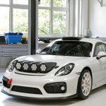 Porsche Cayman som rallybil