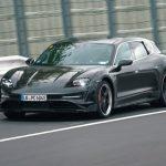 Porsche Taycan Cross Turismo Wagon testas på Nürburgring