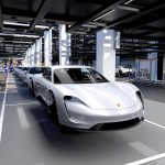 Porsche startar produktionen för Taycan – deras första elbil