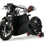 En sjukt cool eldriven motorcykel – Savic med modellerna Omega, Delta och Alpha