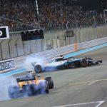 Alonso, Hamilton och Vettel gör Donuts