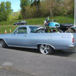 Snygg 1965 El Camino Restomod till salu – Perfekta bilen för att frakta din customhoj