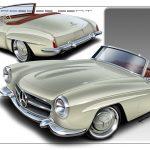 Snyggaste Mercedes Benz cabben ever – 61:a 190 SL i modern tappning