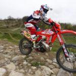 Steve Holcombe tog sin första EnduroGP seger i Italien