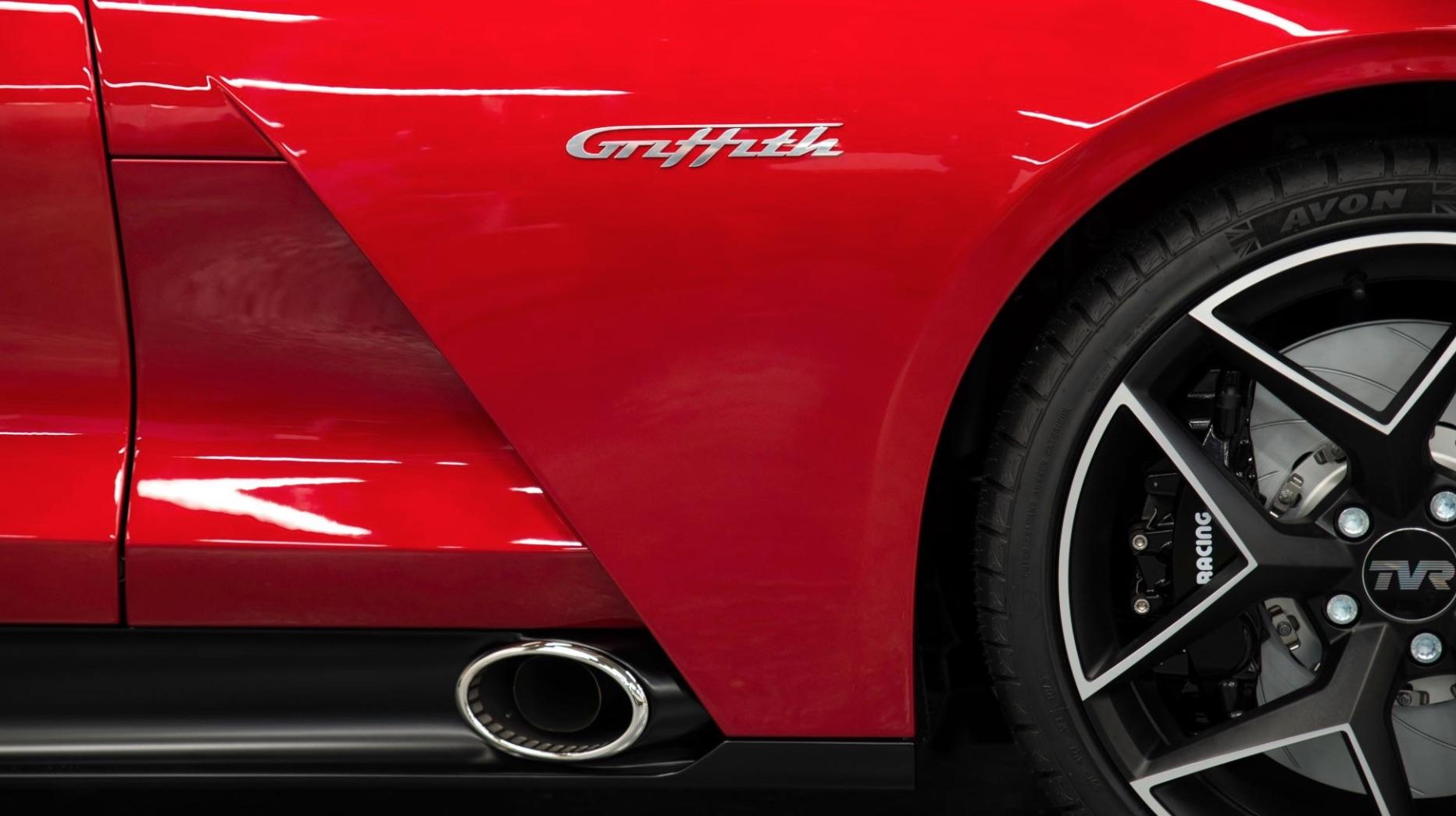 Tvr r tillbaka med en ny griffith motorworld for Griffith motors home pa