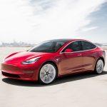 Tesla model 3 världens säkraste bil