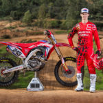 Honda presenterar deras HRC motocrossteam