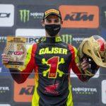 Tim Gajser tog hem sitt fjärde MXGP guld