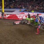 VIDEO: Austin Forkner genar och tappar 2 placeringar