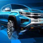Nya Volkswagen Amarok kommer bygga på Ford Ranger